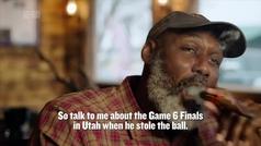 Karl Malone también opina sobre Michael Jordan