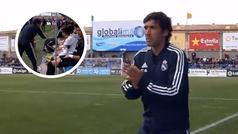 Así se comporta el Raúl entrenador: consejos, mucha intensidad...