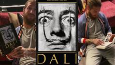Sergio Ramos se sumerge en 'Dalí. La obra pictórica' al ritmo de Maita Vende Ca