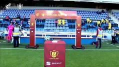 Copa del Rey (1/16 final): Resumen y gol del Tenerife 0-1 Villarreal
