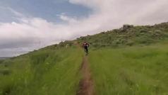 El vertiginoso descenso de Rocío del Alba García. Video: Twitter: @bhtemplocafes