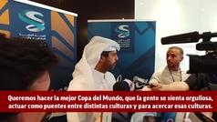 """Nasser al Khater: """"La idea es un Mundial de 32 equipos y todo cambio se hará con el acuerdo de Qatar"""""""