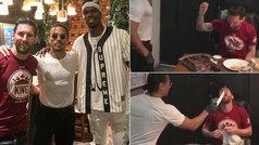 Leo Messi aprovecha el parón de liga para ir al restaurante de los famosos en Dubai