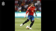 Sergio Ramos repasa su carrera con la Selección