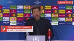 """Simeone: """"La Champions nos está dando dolor de cabeza"""""""