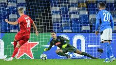 Champions League (Grupo E): Resumen y goles del Nápoles 1-1 RB Salzburgo