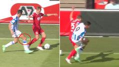 Carlos Fernández podría tener una lesión importante en una rodilla