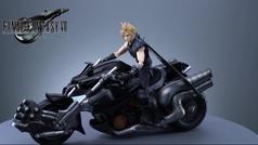 'Final Fantasy VII Remake' muestra la figura de Cloud en su Hardy Daytona