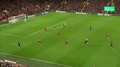 Gol de Minamino (3-2) en el Liverpool 4-3 Salzburgo
