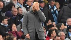"""Guardiola: """"Desde un ángulo el gol de Llorente es mano, desde el que le han mostrado al árbitro, no"""""""