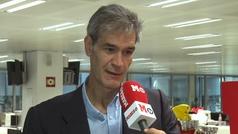 Antonio Martín visita MARCA