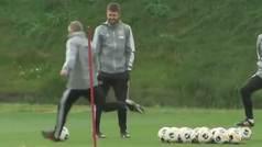 Solskjaer, entrenador del Manchester United, se destapa como un francotirador basura