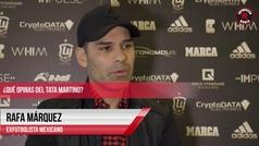 """Rafa Márquez: """"Sabemos que no estamos al nivel de las grandes selecciones"""""""