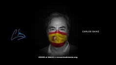 Fernando Alonso y Carlos Sainz padre e hijo apoyan una campaña solidaria