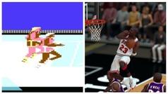 La increíble evolución de Michael Jordan a través de los videojuegos