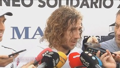 El vacile de Puyol a Piqué con las 24 horas dedicado al fútbol