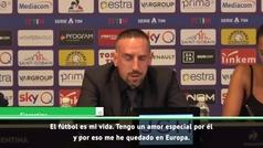 """Ribéry: """"Quiero jugar hasta los 40, como Totti"""""""