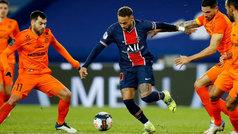 PSG 4-0 Montpellier: 'showtime' en el partido 100 de Neymar