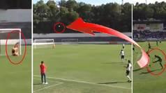 El golazo del año en Segunda B: el misil de Morcillo desde el centro del campo
