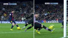 Gol de Messi (2-0) en el Barcelona 3-0 Eibar