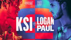 KSI vs Logan Paul, la revancha. El mayor evento de la historia de internet