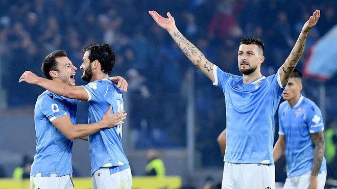 La Lazio supera a la Juventus en el Olímpico