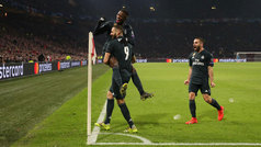 Champions League (octavos, ida): Resumen y goles del Ajax 1-2 Real Madrid