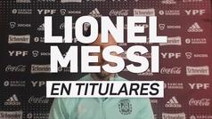 """Messi: """"Mi mayor sueño es conseguir un título con la selección"""""""