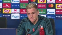 """Van de Beek y su posible fichaje por el Real Madrid: """"Hay cosas más importantes en este momento"""""""