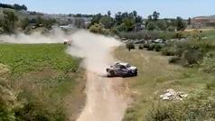 La trampa que denuncia Carlos Sainz: ¡se salta la curva de forma descarada!