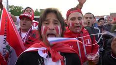 Así vibraron los aficionados peruanos durante el Mundial de Rusia