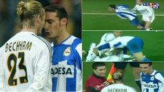 """La tremenda trifulca de Beckham y Scaloni en 2003: """"Otro argentino que me odia"""""""