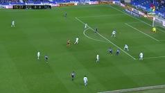 Gol de Toni Villa (0-1) en el Real Sociedad 1-2 Valladolid