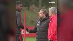 La tensión entre Pogba y Mourinho pasa a otro nivel: si las miradas matasen...