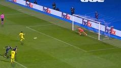 Gol de Gerard Moreno (p.) (0-1) en el Dínamo de Zagreb 0-1 Villarreal