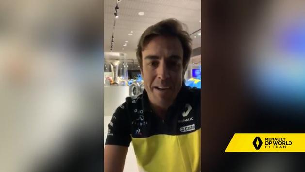 Las primeras palabras de Alonso como nuevo piloto de Renault