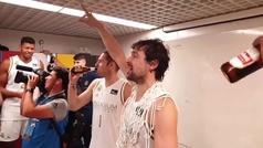 Nos colamos en la celebración mas 'Fantasticaaaaa' del Real Madrid