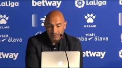 """Abelardo: """"Sabía que el año que viene no iba a estar al 100%, ya me pasó en el Sporting y me equivoqué"""""""