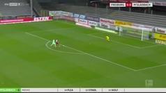 El Gladbach salva un punto (2-2) en su visita a Friburgo con golazos de Embolo y Plea