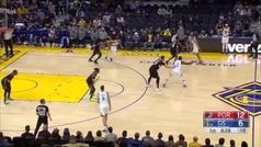 Curry mete miedo a la NBA: ¡41 puntos, siete triples y Curryadas de todo tipo!