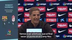 """Robert Moreno: """"Para nosotros es como una victoria"""""""