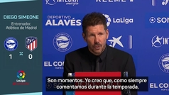 """Simeone: """"La responsabilidad es absolutamente mía"""""""