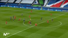 Mabppé marcó un gol 'made in Mabppé' pero fue anulado por fuera de juego