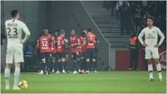 'Manotazo' del Lille para evitar el alirón del PSG
