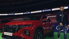 El Hyundai Tucson ya siente los colores del Atlético de Madrid
