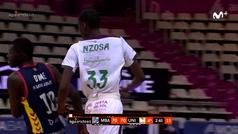 El tremendo estreno de Yannick Nzosa en la ACB con el Unicaja... a los 16 años.