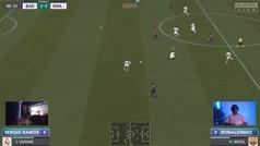 Ramos se rinde a Ronaldinho en el FIFA: palma 0-3... y le aplaude como hizo el Bernabéu