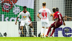 Europa League (J1): Resumen y goles del RB Leipzig 2-3 RB Salzburgo