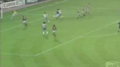 El taconazo de Madjer en la final de la Copa de Europa de 1987