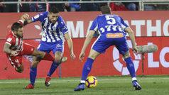 LaLiga (J19): Resumen y goles del Girona 1-1 Alavés